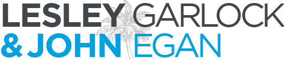 Lesley Garlock & John Egan - Logo and Link to Home Page